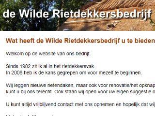 de-wilde-rietdekkersbedrijf